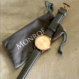 Monroe Sunburst Solerose Watch
